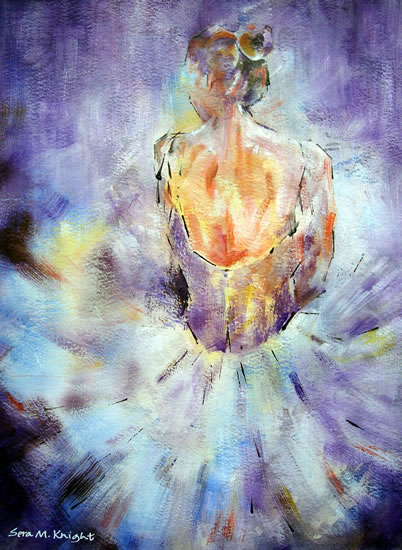 Ballet & Dance Art - Paintings of Ballet by Woking Surrey Artist Sera Knight available in Ballet & Dance Calendar